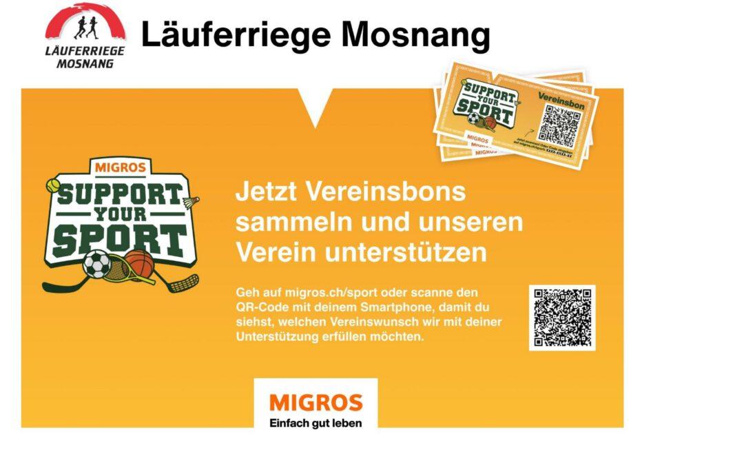 Support your Sport… mir sind mit däbi!